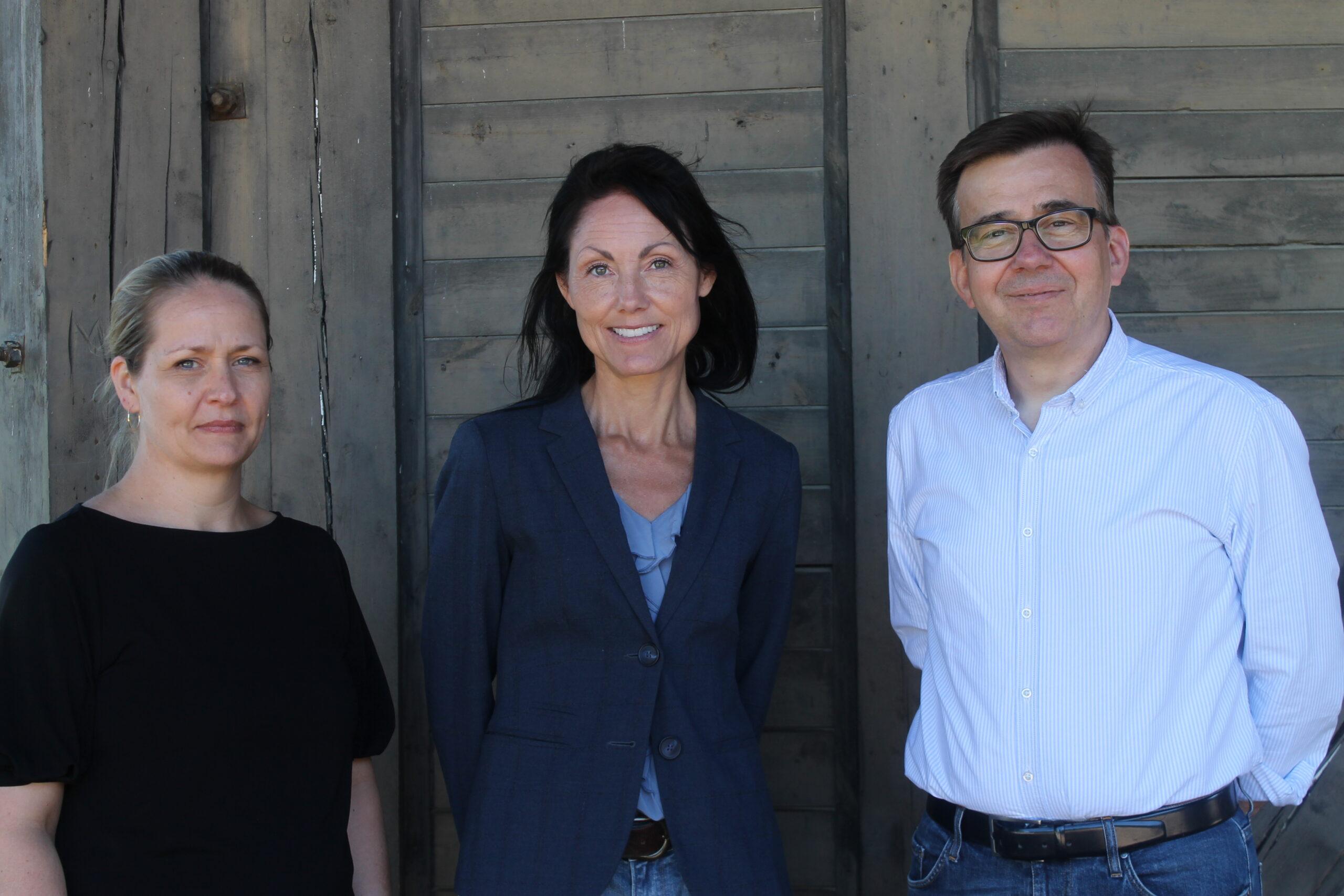 Linda Schwartz Larsen, Heidi Thamestrup og Jan Mortensen