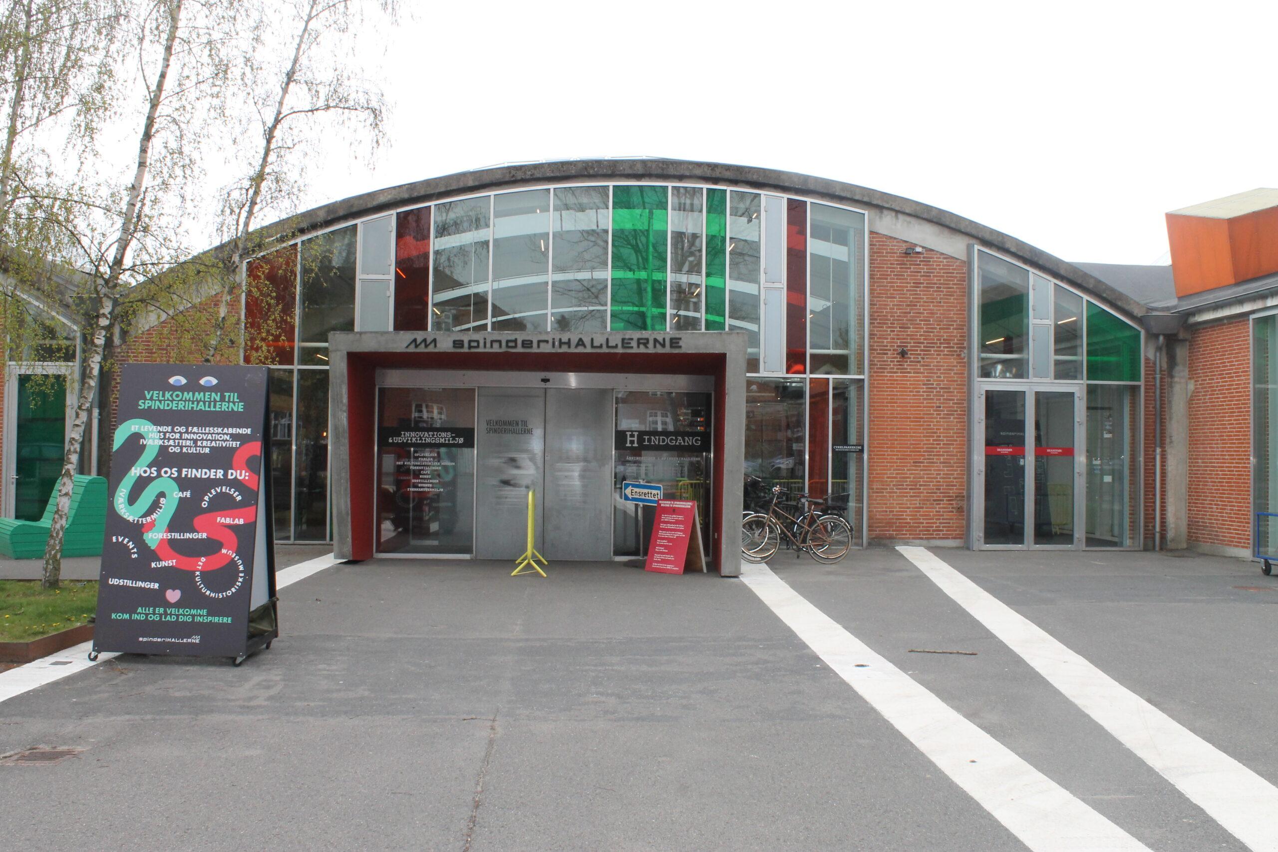 Kulturmuseet i Vejle - indgang